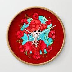 Catrina Doña Carlota Wall Clock