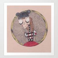 mouse club dropout. Art Print