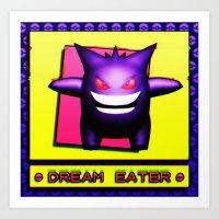DREAM EATER 2.0 Art Print