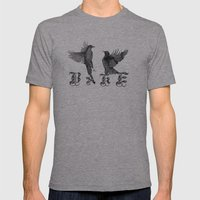 Ravens. Mens Fitted Tee Athletic Grey SMALL