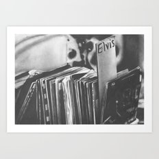 vintage vinyl Art Print