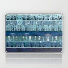Abstract Sea City Laptop & iPad Skin