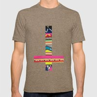 GHHORIZONTAL Mens Fitted Tee Tri-Coffee SMALL