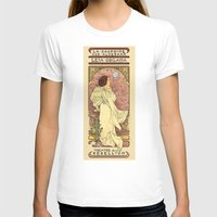 french T-shirts featuring La Dauphine Aux Alderaan by Karen Hallion Illustrations