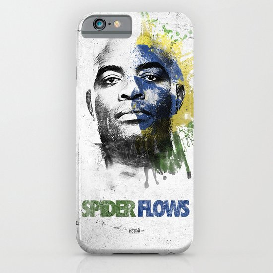 Anderson Silva's Spider Flows - White & Color Series #2 iPhone & iPod Case