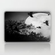 Haunting Moon & Trees Laptop & iPad Skin
