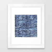 Tiny Feathers Framed Art Print