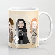 Kokeshis Game Of Thrones Mug