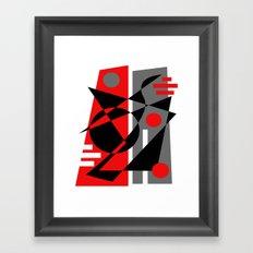 Abstract #353 Framed Art Print