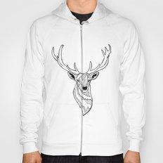Deer (outline) Hoody