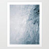 THE BUBBLE NET Art Print