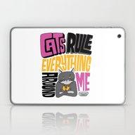 Laptop & iPad Skin featuring C.R.E.A.M. Cats Rule Eve… by Chris Piascik