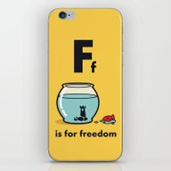 F Is For Freedom - The I… iPhone & iPod Skin
