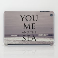 You, Me, and the Sea iPad Case