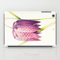 VIII. Vintage Flowers Botanical Print by Pierre-Joseph Redouté - Lilac Tulip iPad Case