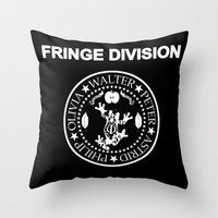 Fringe Division I wanna be sedated Throw Pillow