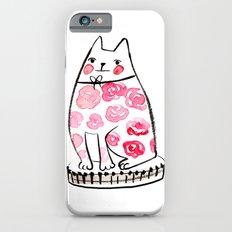 Flower Cat  Slim Case iPhone 6s