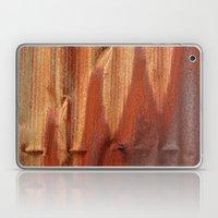 Orange Waves Laptop & iPad Skin