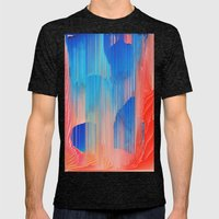 Hot n' Cold Mens Fitted Tee Tri-Black SMALL