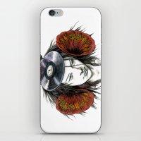 Record Head iPhone & iPod Skin