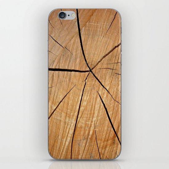 wood macro II iPhone & iPod Skin