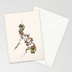 7,107 Islands   A Map of the Philippines Stationery Cards