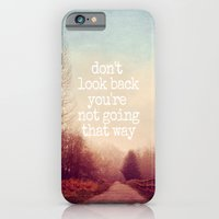 iPhone Cases featuring dont look back by Sylvia Cook Photography