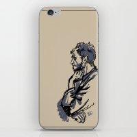 Floki Sketch iPhone & iPod Skin