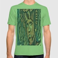 another birck head Mens Fitted Tee Grass SMALL