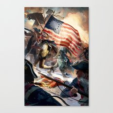 Assassin's Creed III Canvas Print