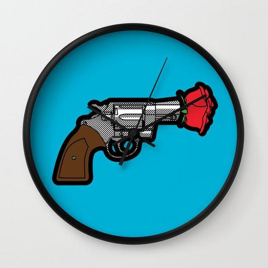 Pop Icon - Banksy Wall Clock