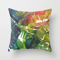 The Jungle vol 5 Throw Pillow