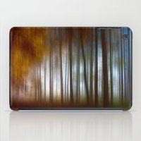 Abstract Autumn Forest iPad Case
