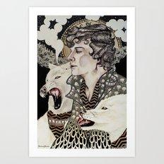 The Hounds Art Print