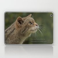 The Wisdom Of Cats Laptop & iPad Skin