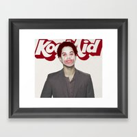 Send Out The Clown Framed Art Print