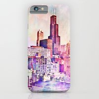 iPhone & iPod Case featuring My Kind of Town by farsidian