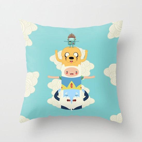 Adventure Totem Throw Pillow