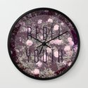 Rebel Youth Wall Clock