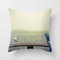 Pier 39, San Francisco, CA Throw Pillow