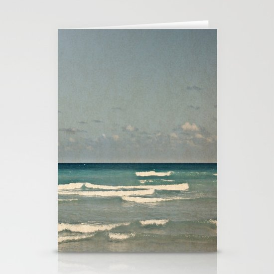 Ocean Stationery Card