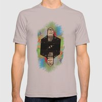 Norman Mens Fitted Tee Cinder SMALL