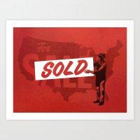 Sold Art Print