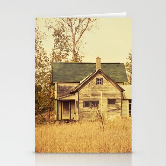 Lonely World Stationery Card