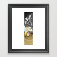 5:55 AM Framed Art Print