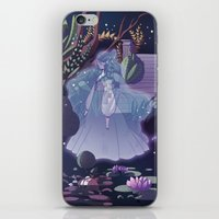 The ghost of the lake iPhone & iPod Skin
