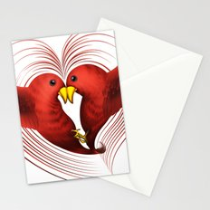 HeartBirds Stationery Cards