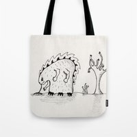 Desert Creature Tote Bag
