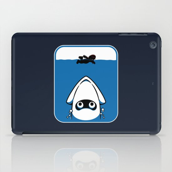 The Great White Blooper iPad Case