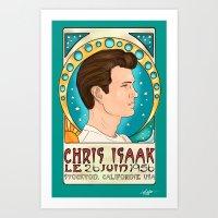 Chris Isaak June 26, 1956 Art Print